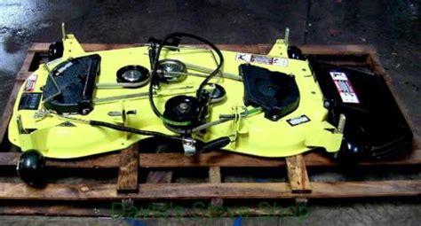 deere 48c mower deck nos deere 48c edge mower deck gt225 245 325 345 gx325