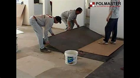 how to install porcelain large format tiles 3 x10