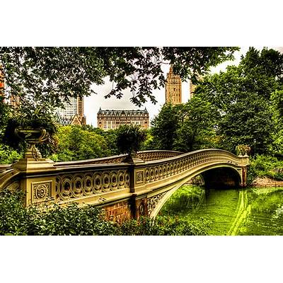 File:Bow Bridge in Central Park NYC 2 - August 2009 HDR