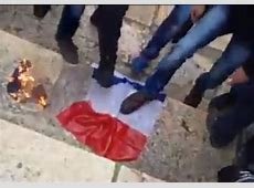WATCH French flag burned on Temple Mount in a large rally