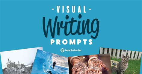 visual writing prompts teach starter