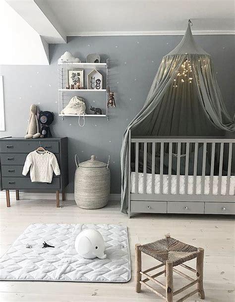 deco chambre bebe gris chambre de bébé 25 idées pour une fille décoration