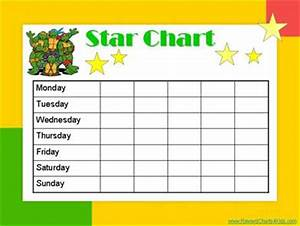 star charts for kids With star chart for kids template