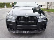 Buy used BMW X6M Black Vorsteiner ED Carbon Fiber Kit Hood