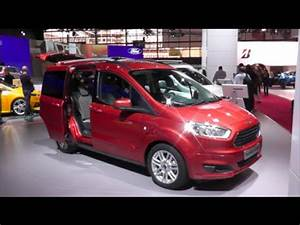 Ford Tourneo Courier Avis : ford tourneo courier 2015 in detail review walkaround interior exterior youtube ~ Melissatoandfro.com Idées de Décoration