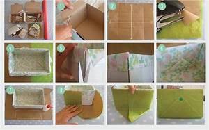 Boite De Rangement Papier : diy boites cadeaux et rangement pour vos cosm tiques maison joli 39 essence ~ Teatrodelosmanantiales.com Idées de Décoration