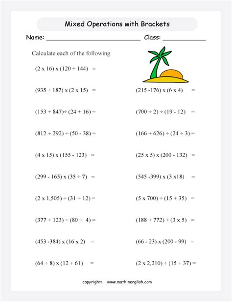 bodmas maths worksheets 1000 images about bodmas on