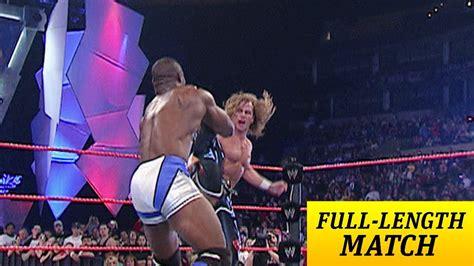 Fulllength Match  Raw  Shawn Michaels Vs Shelton