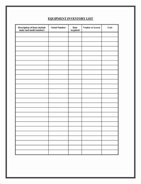 server checklist template excel exceltemplates