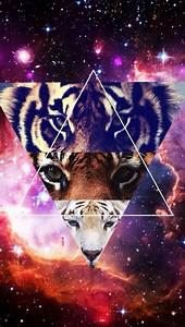 galaxy, tiger, triangle, wallpaper - image #2657349 by ...