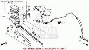 Honda Vf750c Magna 1988  J  Usa California Clutch Master
