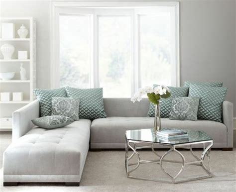 un salon en gris et blanc c est chic voil 224 82 photos qui en t 233 moignent