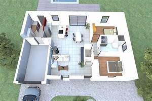 Visualisez Le Plan 3d D U0026 39 Un De Nos Mod U00e8les De Maison 2