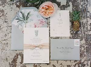 tropical chic newport reception party magnolia rouge With wedding invitations newport beach