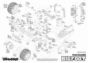 Traxxas Slvr Big Foot No  1 The Original Monster Truck Rtr  Inkl  Akku Und Lader   Trx36034