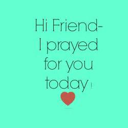 a month of praying for friends