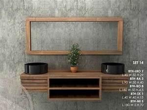 Mobili bagno in legno massello lavandini pietra e marmo for Mobili bagno legno massello