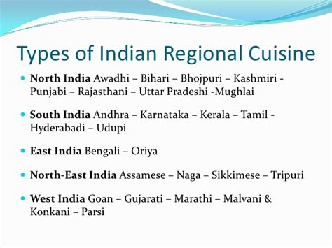 types of indian cuisine introduction to indian cuisine