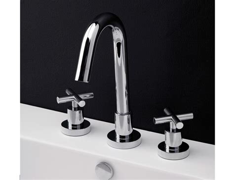 faucets and more lacava cigno widespread faucet cross handle bathroom