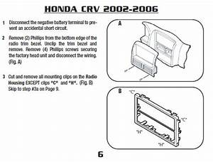 2004 Honda Crv Installation Parts  Harness  Wires  Kits