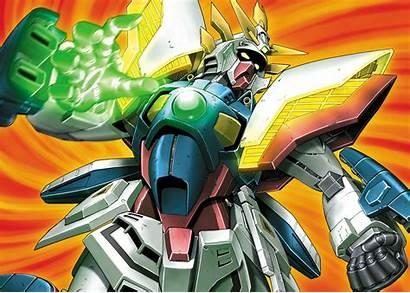 Gundam Shining Finger Burning Fighter Mobile Suit