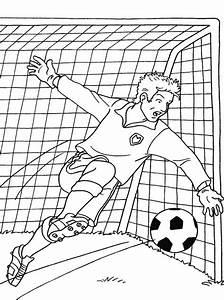 Cage Foot Enfant : dessin cage de foot coloriage ~ Teatrodelosmanantiales.com Idées de Décoration