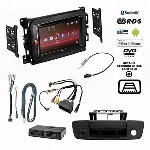 Pioneer Double Din Bluetooth Stereo Backup Camera Dodge