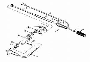 Steering Handle Assembly Mercury Manual For Mariner