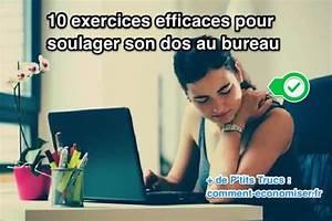 10 Exercices Efficaces Pour Soulager Son Dos Au Bureau