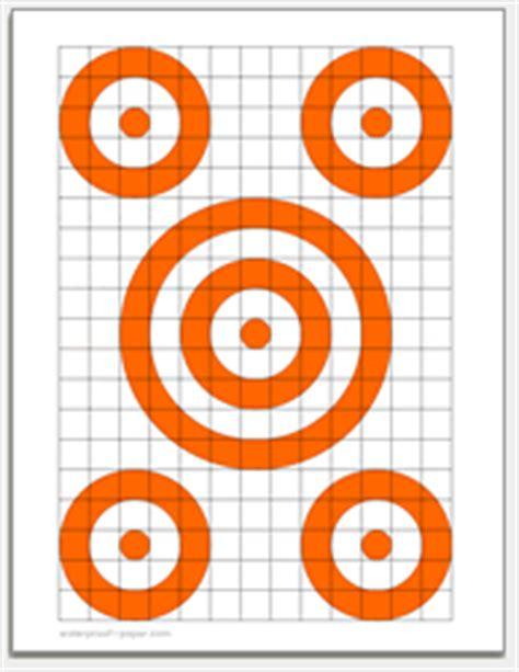 targets printable targets  gun rifle pistol