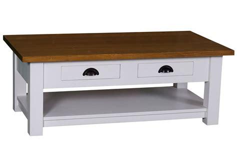 table cuisine en pin table basse avec tiroir