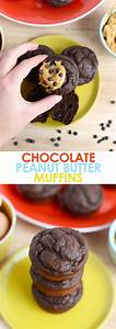 Healthy Chocolate Peanut Butter Muffins | Fit Foodie Finds