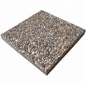 Gehwegplatten 50x50 Gewicht : waschbetonplatte buntkies 40 cm x 40 cm x 4 cm kaufen bei obi ~ Buech-reservation.com Haus und Dekorationen