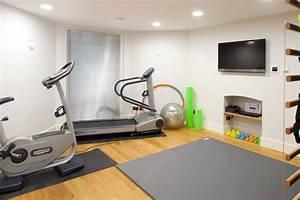 Gym equipment storage ideas home gym contemporary with