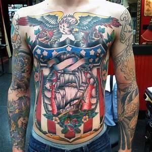90 Patriotic Tattoos For Men - Nationalistic Pride Design ...