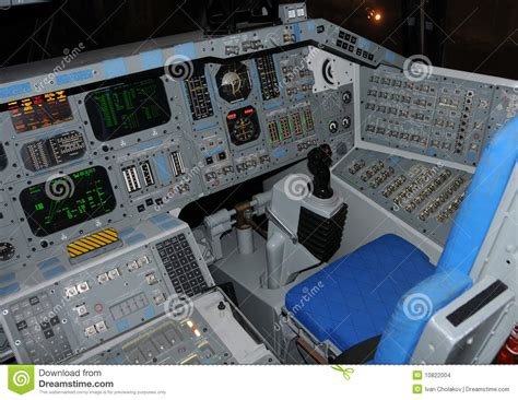 space shuttle cockpit stock images image