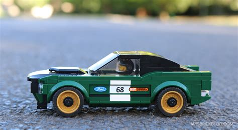 lego ford mustang review lego 75884 1968 ford mustang fastback s
