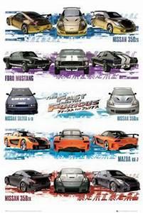 Fast And Furious Affiche : fast and furious compilation poster affiche acheter le sur ~ Medecine-chirurgie-esthetiques.com Avis de Voitures