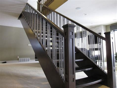 Accent Your Stairs Using Metal Stair Railing