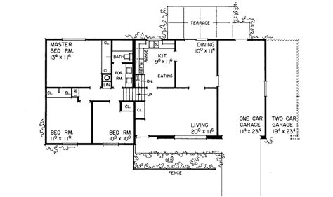 tri level home plans designs comfortable tri level hwbdo07978 split level house