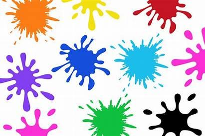 Splatter Paint Svg Clip Clipart Colorful