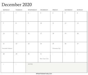 december calendar templates whatisthedatetodaycom