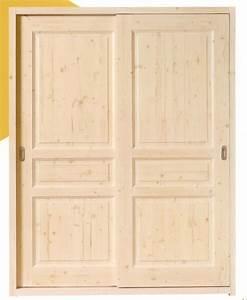 Porte Dressing Sur Mesure : cuisine dressing portes placard bois brut portes de ~ Premium-room.com Idées de Décoration