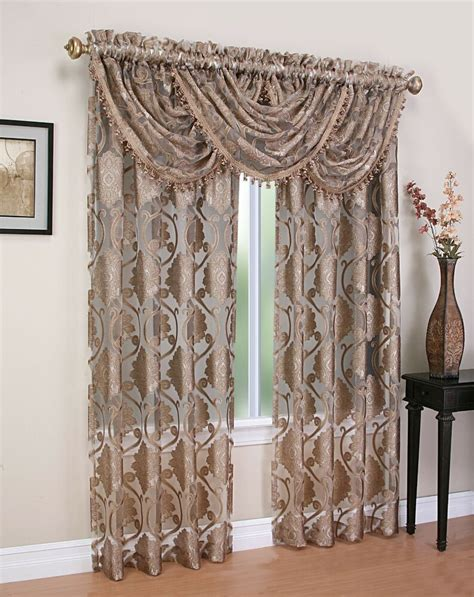 Valance Curtains by Luxurious Milawi Window Treatment Window Curtain Organza