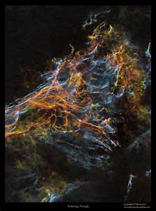 Astro Anarchy: Filaments of the Veil nebula, starless view