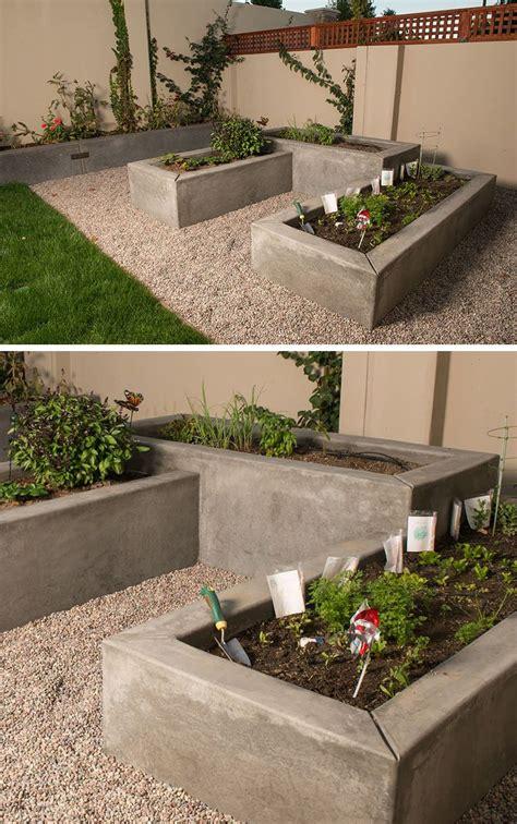 10 Excellent Examples Of Builtin Concrete Planters