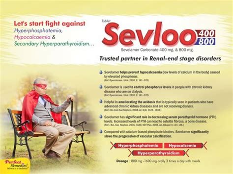 Sevelamer Carbonate 400 mg & 800 mg, Prescription ...
