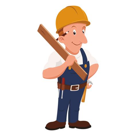 carpenter cartoon profession png cartoon cartoon house