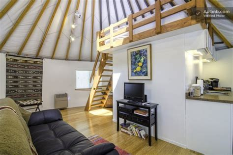 Modern Yurt Cabin You Can Rent in Malibu, California