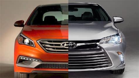 toyota camry vs hyundai sonata high toyota camry vs hyundai sonata 96 upon cars models